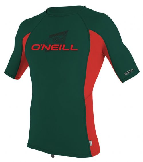O'NEILL BOYS RASH TOP.NEW SKINS UPF50 SUN PROTECTION BLACK GUARD VEST T SHIRT 8S